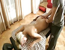 Sexy Amy Gets Massage And Anal Fucked