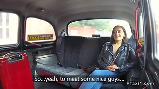 Hot Tourist Bangs In Czech Fake Taxi