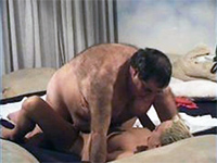 Amateur Hairy Old Man Screws Young Babysitter