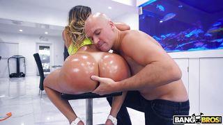 Huge Oiled Ass