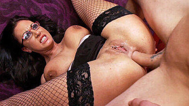 Rimming Fingering And Fucking A Glasses Wearing Milf S Ass