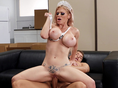 Russian Beauty Queen Casca Akashova Cowgirl Riding Big Cock In The Office