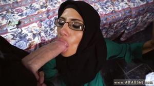 Gorgeous Arab Desperate Arab Woman Fucks For Money
