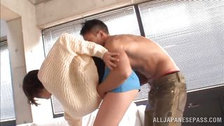 Slim Young Japanese Sucking Cock