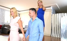 Wicked Threesome Rimjob With Lulu Love And Sharon White