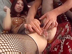 Fuuka Takanashi Screams With A Tasty Dick In Her Wet Cunt
