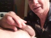 Fag Sucks Cock And Balls And Rewarded With A Facial