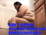 BIG FAT IDIOT ALMA NAKED AND HUMILIATED LOL