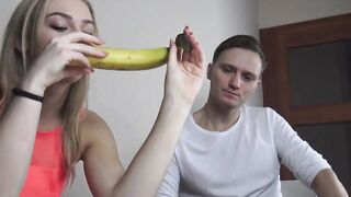 Cute Blonde Lady Loves Seducing Her Stepbrother Into Having Hardcore Intercourse