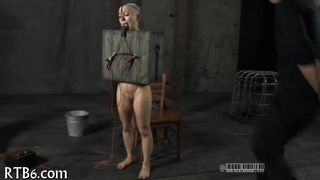 Beauty Is Stripping Inside Cage