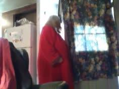 Sexy BBW Granny Showing Off