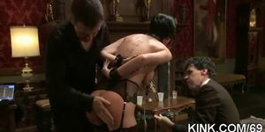 Dirty Slave Girl Squirts And Fucked Hard   Video 8