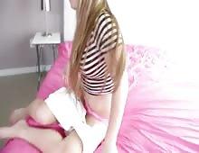 Petite Blonde Girlfriend Madison Chandler