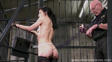 Shadow Slaves Features Harsh Bdsm Play With Slave Girl In Real Pain