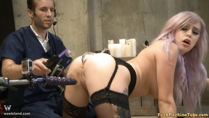 Vyxen Steel Ass Sex Pounding Machine Interrogation BDSM Love Making