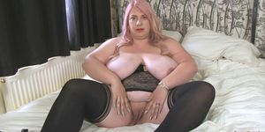BUSTY BRITAIN   Kiki Rainbow Big Tits Fun And Dildo Fucking
