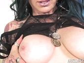 Tattooed Bitch With DD Cups Jenevieve Hexxx Is Dildo Fucking Stretched Cunt