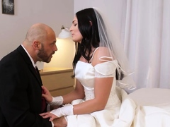 RIM4K. Relaxing With Dick Inside Cunt Makes Bride