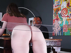 Rough Spanking And ATM BDSM Punishment For A PAWG Slave