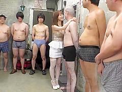 [KV 189] Perfect Tits Shinoda Yu 124 Minute Non Stop Gangbang Creampie