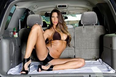 MILF Kayla Carrera Banged In Back Of Van