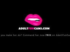 Hot Sexy Sweet Amazing Redhead Babe Masturbating At Her Cam