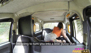 Crazy Emo Lesbian Fuck In Female Fake Taxi