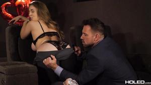 Juicy Slender Shaped Lena Paul Enjoys Anal Fuck On Valentine's Day
