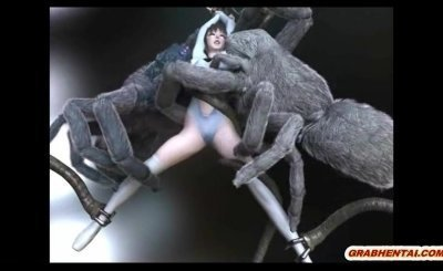 3d Anime Caught And Brutally Fucked By Spider Monsters 7037