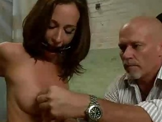 Bdsm Brunette Deep Anal Fucked And Throat Pounded