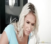 Busty Blonde Squirts For Blonde