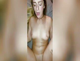 Nasty Girl Fucks Hard Until The Creampie