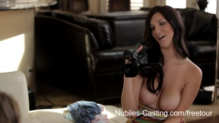 Nubiles Casting   Porn Tryout Gets Teen Hottie Fucked Raw