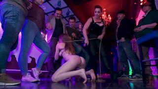 Enjoying Public Humiliation In The Night Club