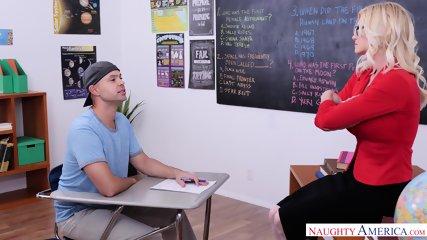 Hot Teacher With Sperm In Cunt