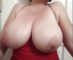 Bbw Lateshay Red Mini Amp Amp Amp Black Stockings 36 G Saggy Tits