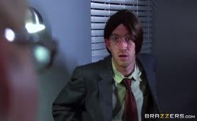 Brazzers   Dirty Busty Mature Phoenix Marie Fucks In Office