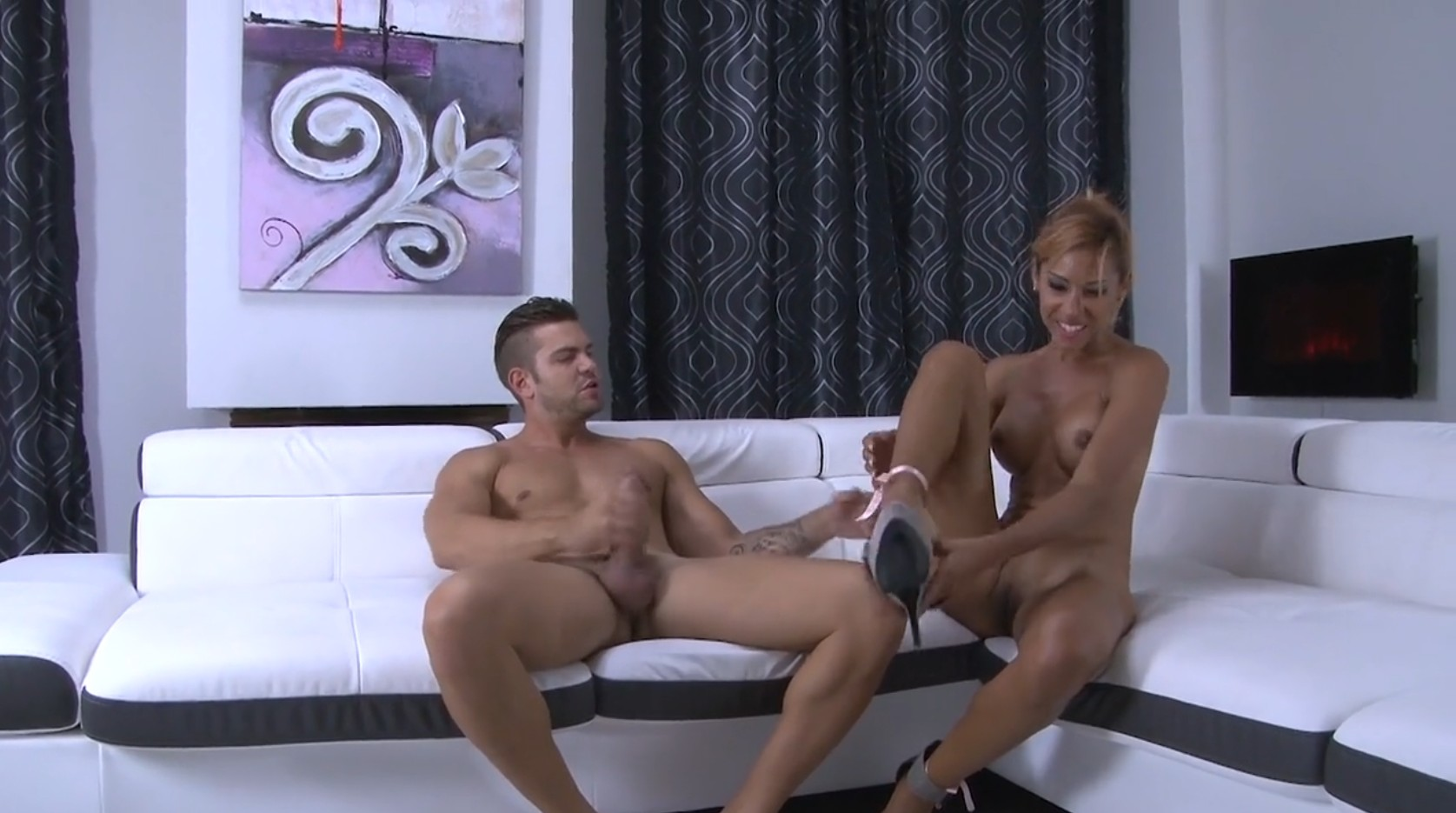 Exotic Beauty On Her First Porn Casting