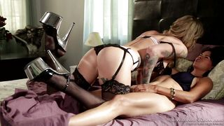 Tattooed Lesbians Get Loose In Bed