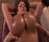 Eva Notty Gets Sexual Massage