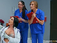 New Technologies In Medicine Allow Doctor Angela White To Diagnose The Problem Via Getting It On