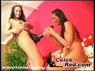 Giant Strapon Dildo Makes Her Squirt Toys Lesbian Squirt