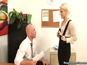 Ash Hollywood   Naughty Office