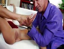 Girl Next Door Riley Reid Riding Big Cock With Her Wet Pussy