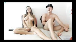 Nasty Amateur Couple In Webcam Action