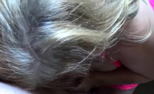 Blonde MILF Fucked By Horny Husband And Cummed Hardcore