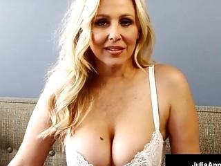 Bad Teacher Milf Julia Ann Shows You Pov Naughty Pussy Rubs